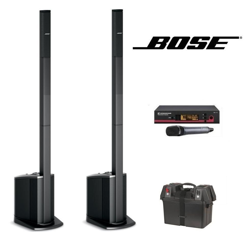 Bose L1 Compact x 2 with battery pack