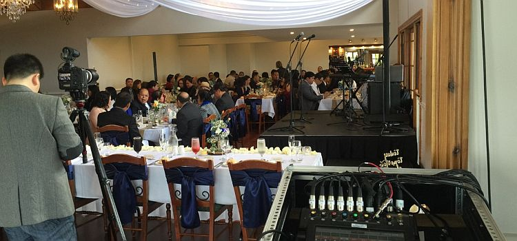 Wedding reception sound Kurrajong