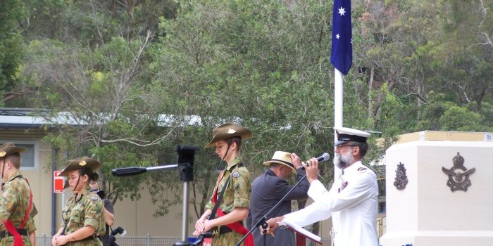 community event anzac day pa system
