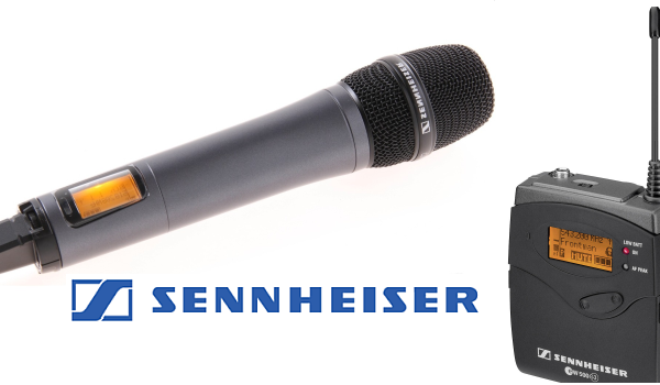 Battery powered wireless microphone receivers