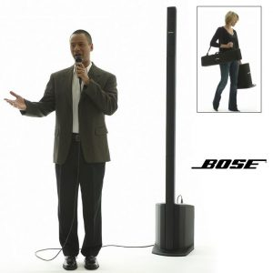 Bose L1 Compact Speaker with Wired Microphone for Corporate Events