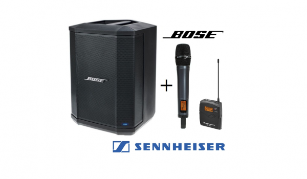 Banner Bose S1 Battery Powered Speaker with Wireless Microphone