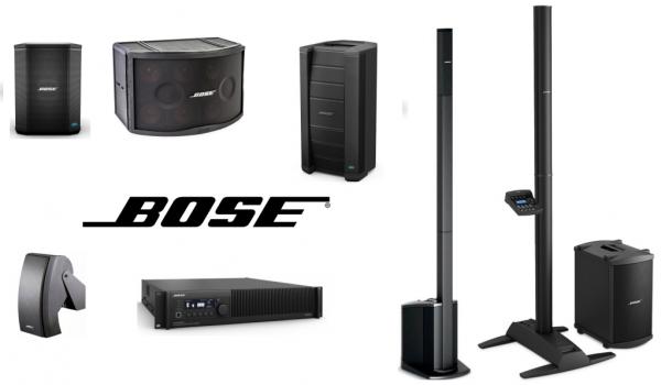Bose PA Speaker Range Banner