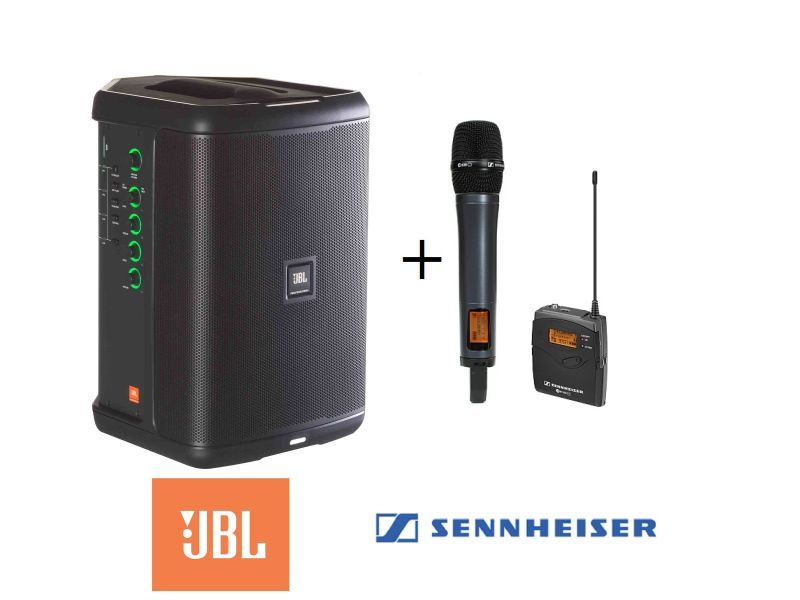 JBL EON One Compact Battery Powered Speaker with Wireless Microphone