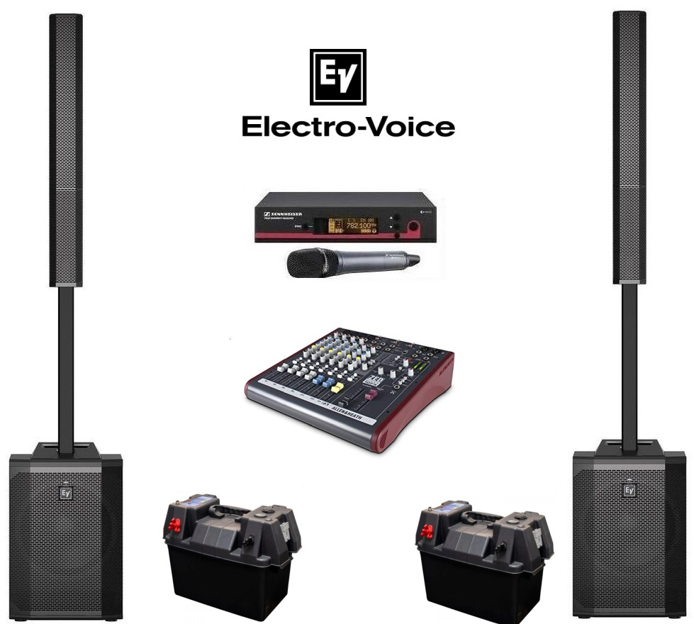 EV Evovle Outdoor Sound System Package