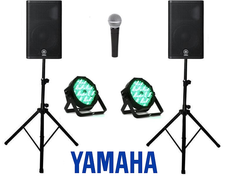 Party Speaker & Lights Package