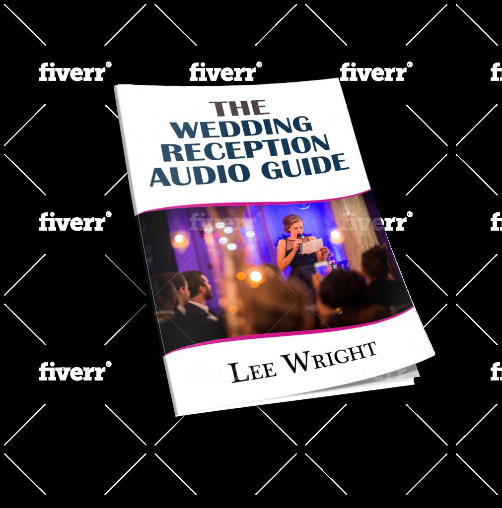 wedding reception audio guide
