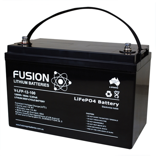 100 amp hour lithium deep cycle battery
