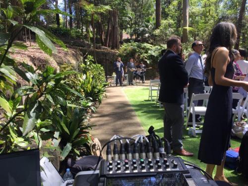 Wedding at Swain Gardens, Killara.